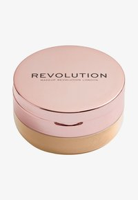 Make up Revolution - CONCEAL & FIX SETTING POWDER - Fixeerspray & -poeder - deep honey - 0