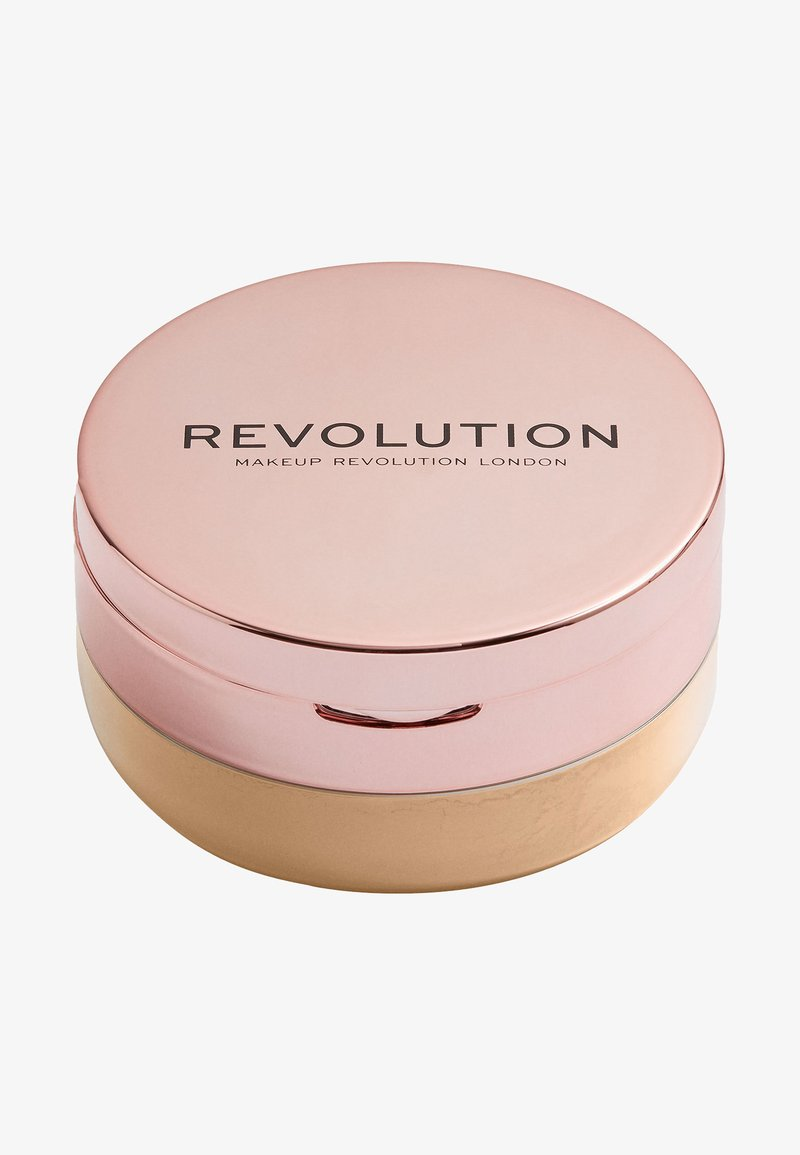 Make up Revolution - CONCEAL & FIX SETTING POWDER - Fixeerspray & -poeder - deep honey