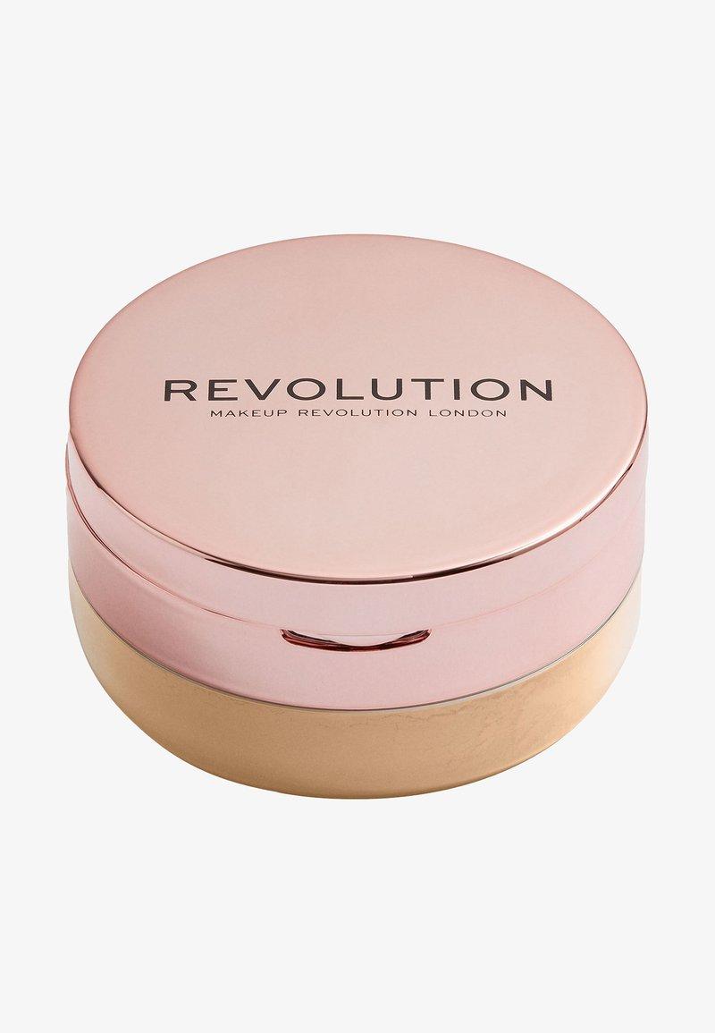 Make up Revolution - CONCEAL & FIX SETTING POWDER - Setting spray & powder - deep honey