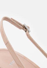HUGO - INES SLING - Classic heels - light beige - 6