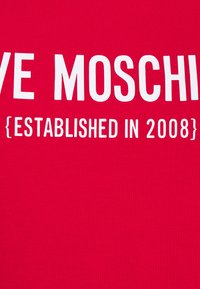 Love Moschino - Print T-shirt - red - 7