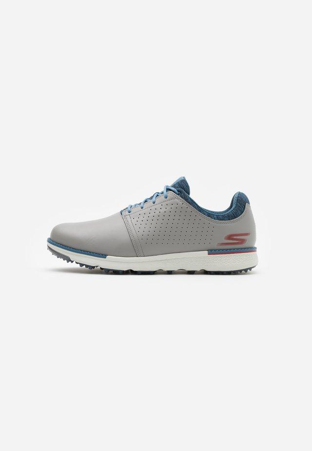 GO GOLF ELITE V.3 RELAXED FIT - Chaussures de golf - light gray/blue