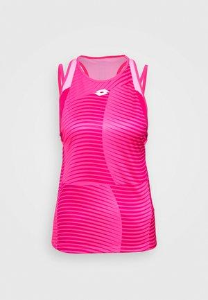 TOP TEN TANK - Treningsskjorter - vivid fuchsia/glamour pink