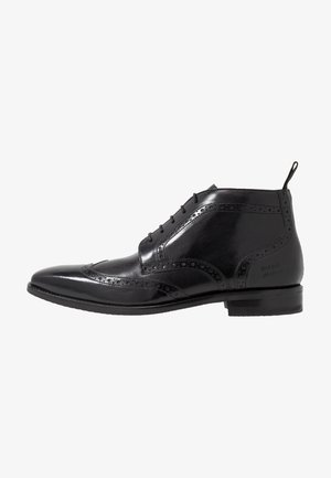 FREDDY - Smart lace-ups - remo black