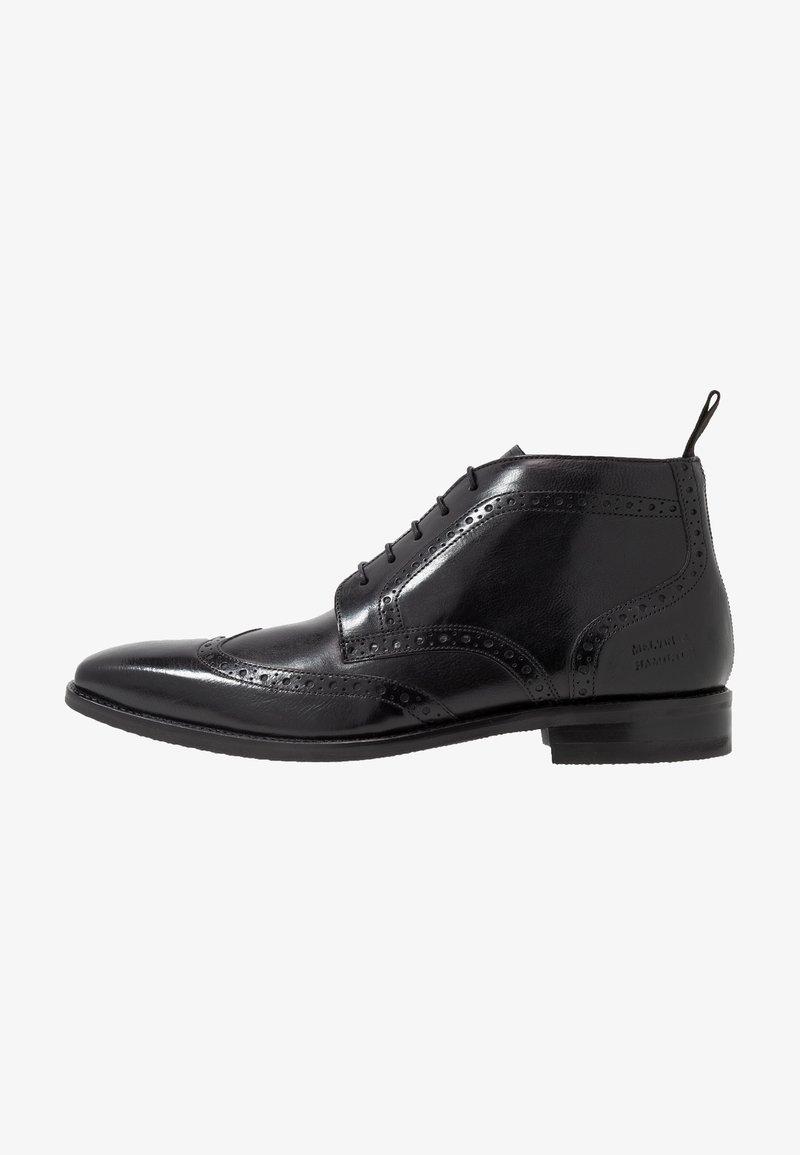 Melvin & Hamilton - FREDDY - Elegantní šněrovací boty - remo black