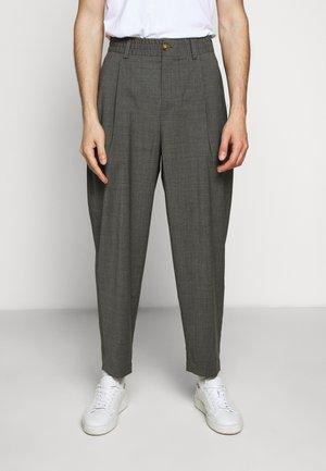 HELTERSKELTER - Pantalon classique - grey melange