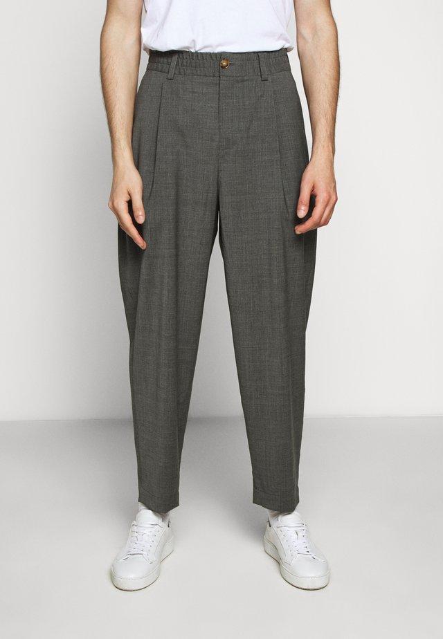 HELTERSKELTER - Trousers - grey melange