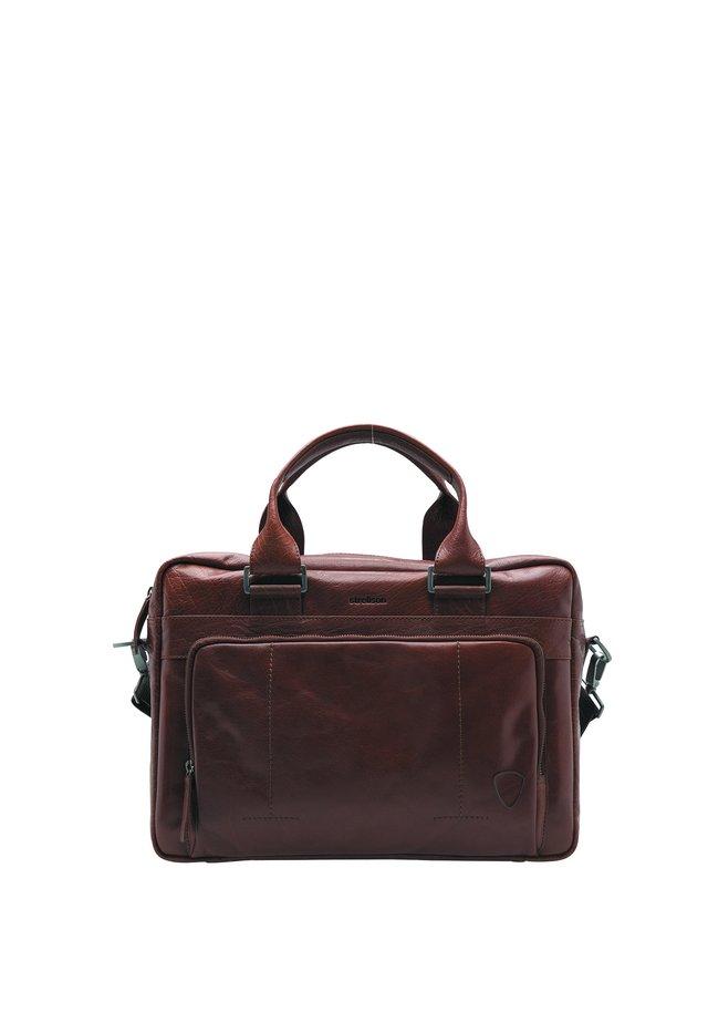 BARNES - Briefcase - cognac