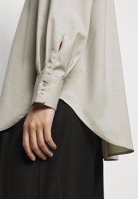 House of Dagmar - GINA  - Button-down blouse - light grey - 3