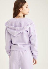 DeFacto - Zip-up hoodie - purple - 2