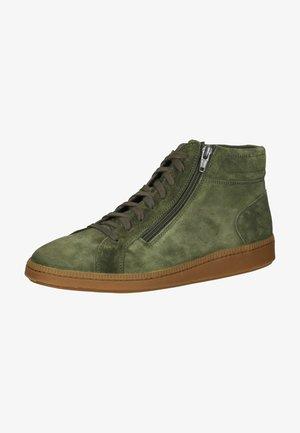 Sneakers hoog - moss