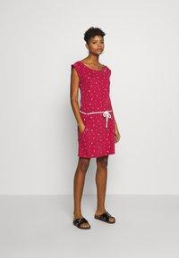 Ragwear - TAG - Žerzejové šaty - red - 1