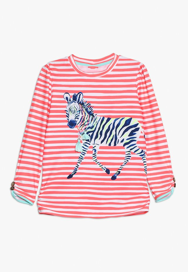 GIRLS CLASSIC RASH - Surfshirt - hot coral