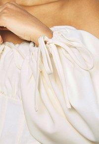 Missguided - BALLOON SLEEVE CORSET - Blouse - cream - 5
