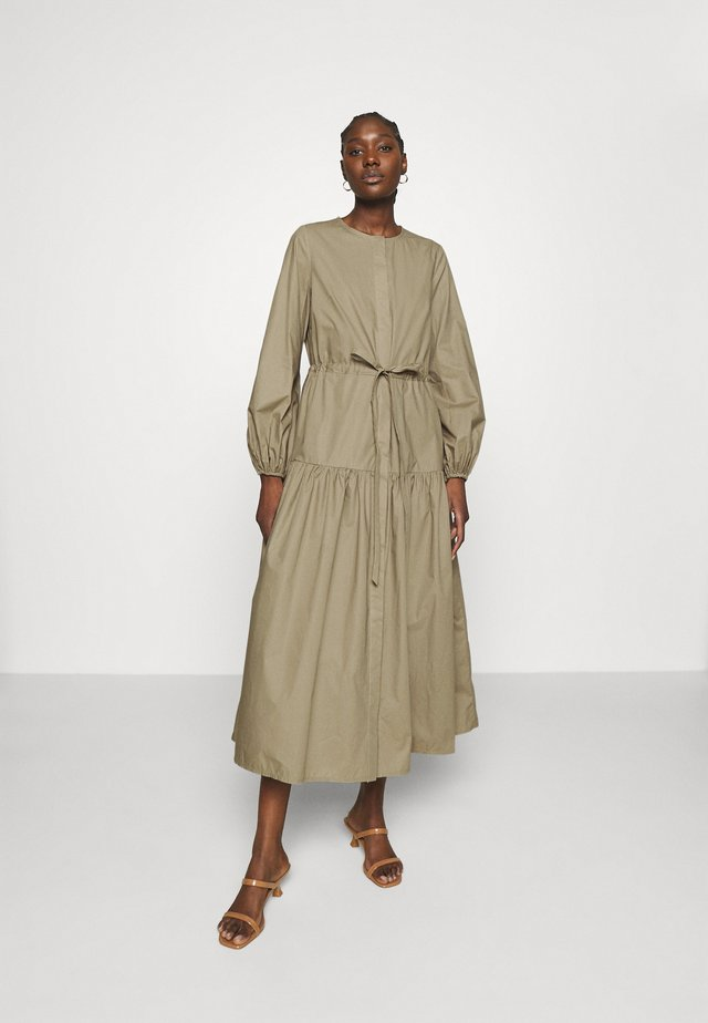 ORTENSIA - Shirt dress - sage green