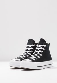 Converse - CHUCK TAYLOR ALL STAR LIFT - Zapatillas altas - black/white - 6