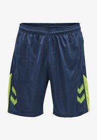 Hummel - LEAD TRAINER KIDS SHORTS - Sports shorts - dark denim - 0
