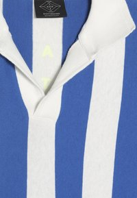 Scotch & Soda - SHORT SLEEVE DYED STRIPES + ARTWORKS - Polo shirt - blue/white - 2