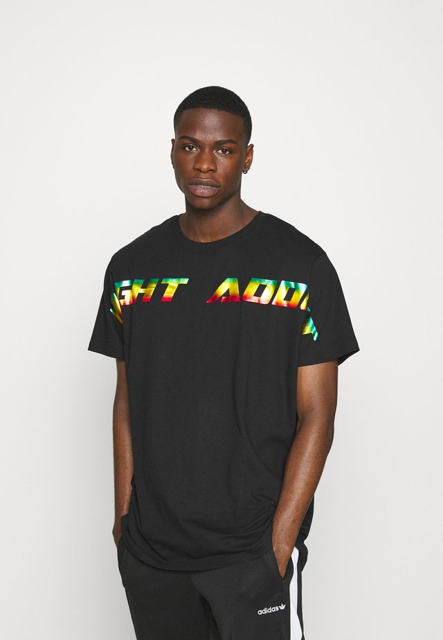 STORM - T-shirt imprimé - black
