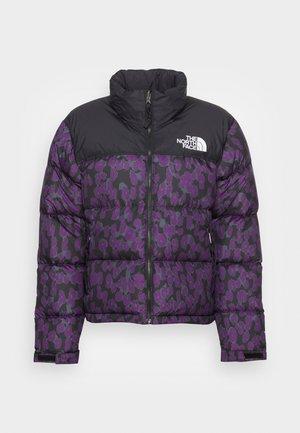 PRINTED RETRO NUPTSE JACKET - Daunenjacke - purple