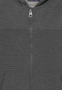 Lemon Beret - TEEN BOYS - Zip-up hoodie - dark grey melange - 2