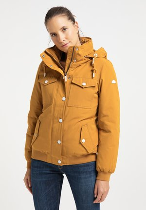 Winter jacket - senf