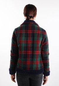 Felix Hardy - Light jacket - green-red - 1