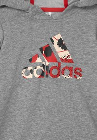 adidas Performance - DRESS SET - Trikoot - medium grey heather/vivid red/white/black - 3