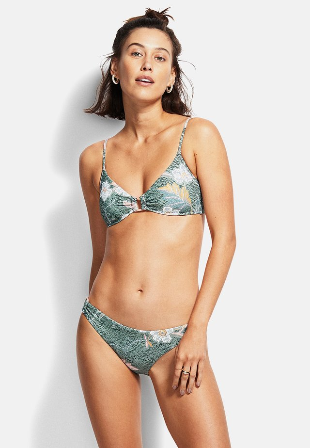 RING SIDE HIPSTER - Bikini - olive leaf