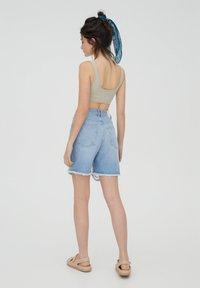 PULL&BEAR - Shorts di jeans - blue - 2