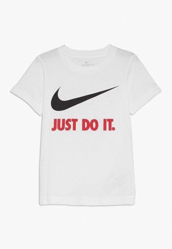 TEE UNISEX - Print T-shirt - white/red