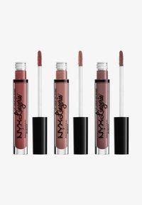 Nyx Professional Makeup - LIP LINGERIE MATTE TRIO - Lippen-Make-up-Palette - - - 0