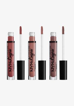LIP LINGERIE MATTE TRIO - Lippen-Make-up-Palette - -