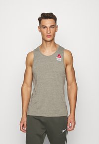 Reebok - TANK GAMES - Top - green - 0
