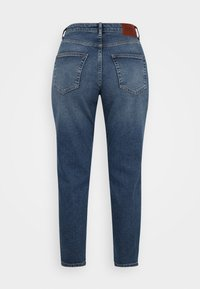 ONLY Petite - ONLVENEDA LIFE MOM  - Relaxed fit jeans - dark blue - 1