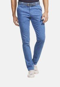 Meyer - AUTOFAHRER UND REISE - Slim fit jeans - blue - 0