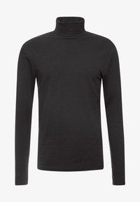 Only & Sons - ONSMICHAN SLIM ROLLNECK TEE - Maglietta a manica lunga - black - 5