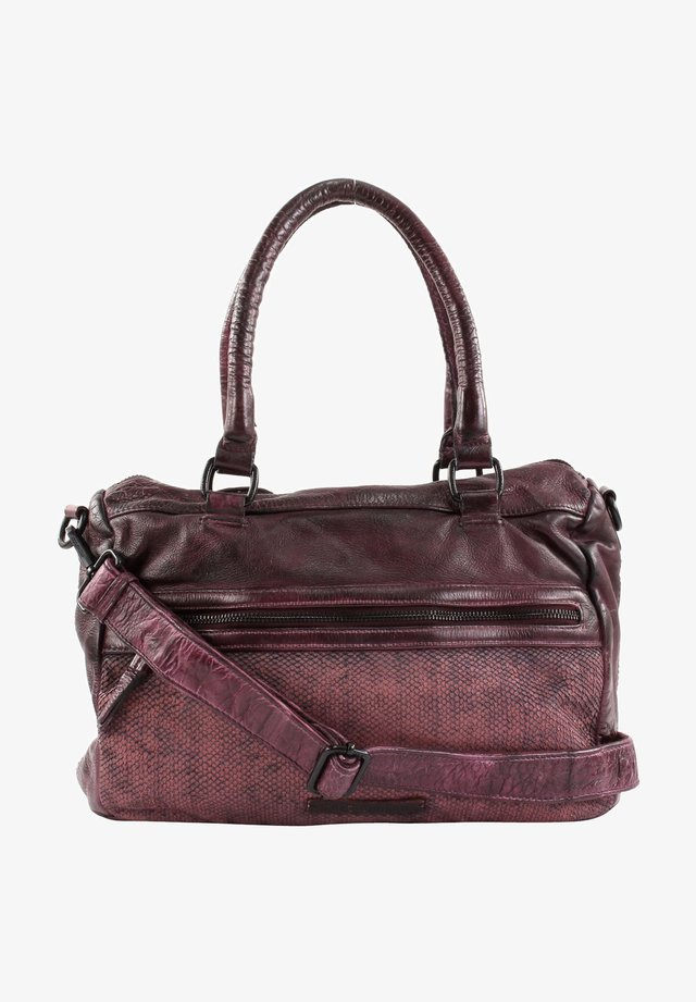 SCALE DISKUS - Handbag - maroon