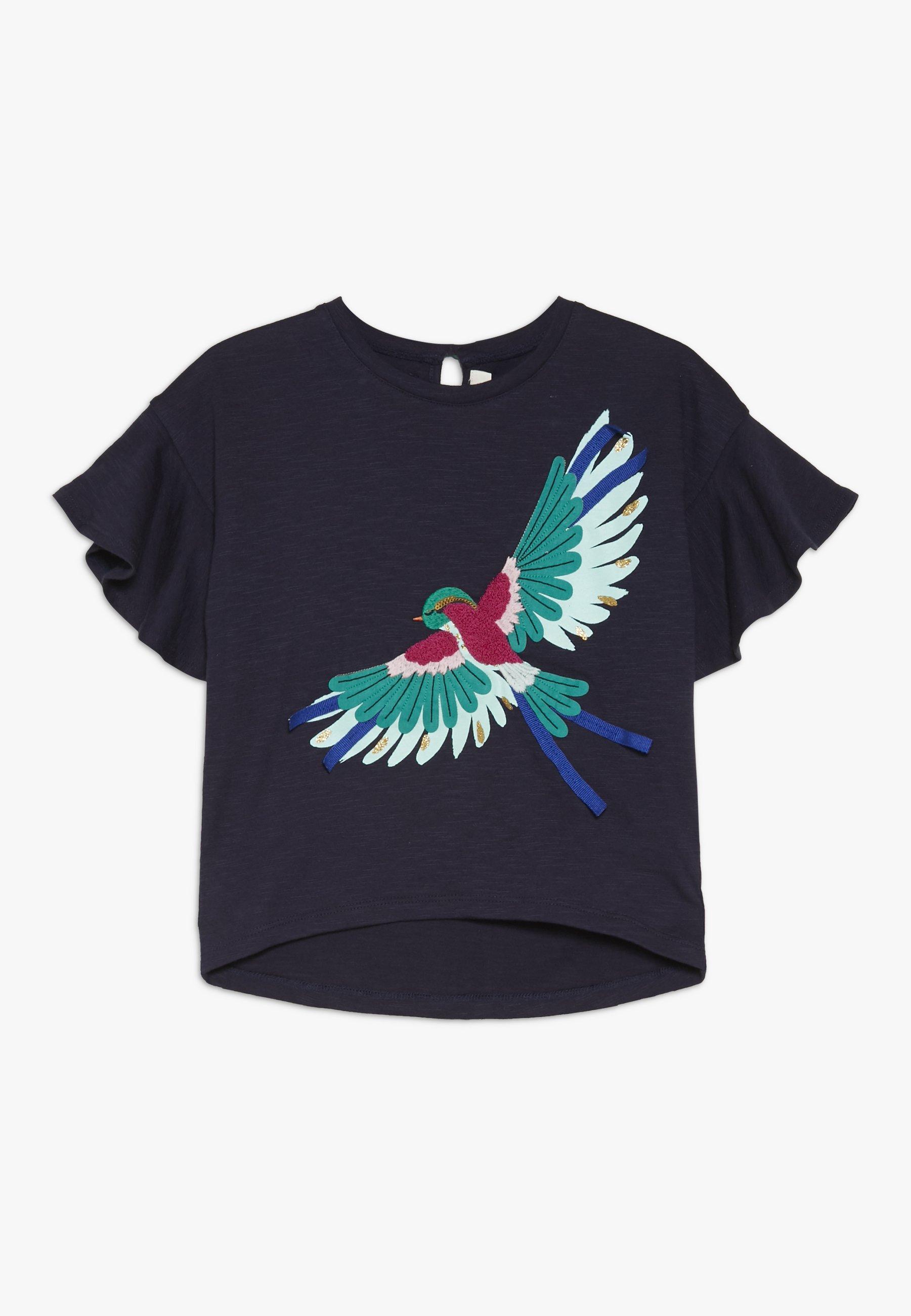 Große Förderung Catimini TEE - T-Shirt print - navy | Damenbekleidung 2020