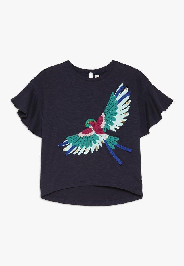 TEE - T-shirt z nadrukiem - navy
