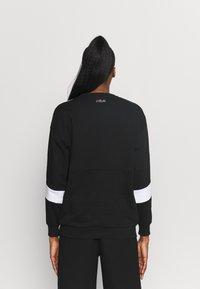 Fila - JACKI TAPED CREW - Sweatshirt - black/bright white - 2