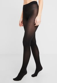 Falke - SEIDENGLATT - Tights - black - 0