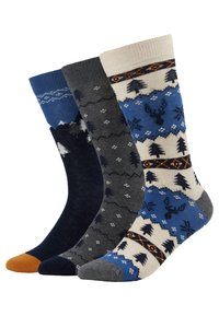 Pier One - 3 PACK - Chaussettes - multicoloured - 0