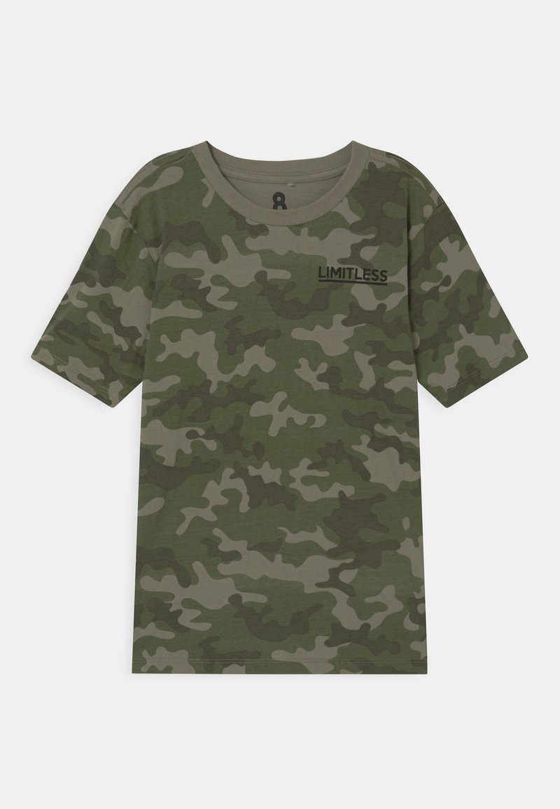 Cotton On - MAX SKATER - T-shirt print - khaki