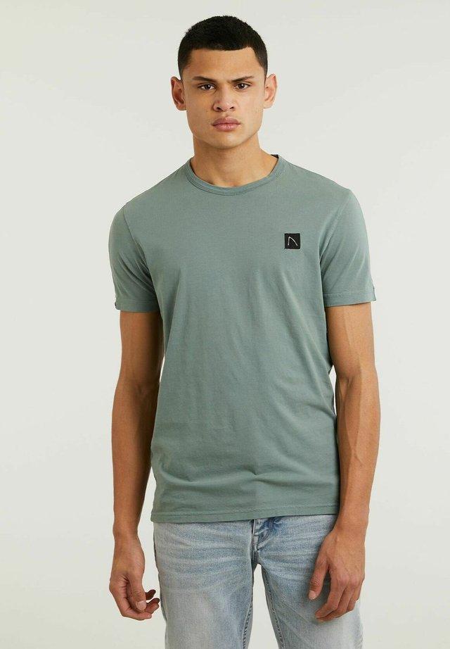 APPOLLO - T-shirt basic - light blue