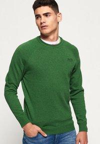 Superdry - ORANGE LABEL  - Pullover - green - 0