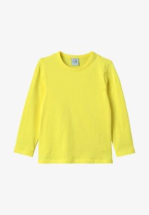 LONGSLEEVE - Langærmede T-shirts - sunny yellow