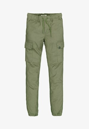 Cargo trousers - oliv