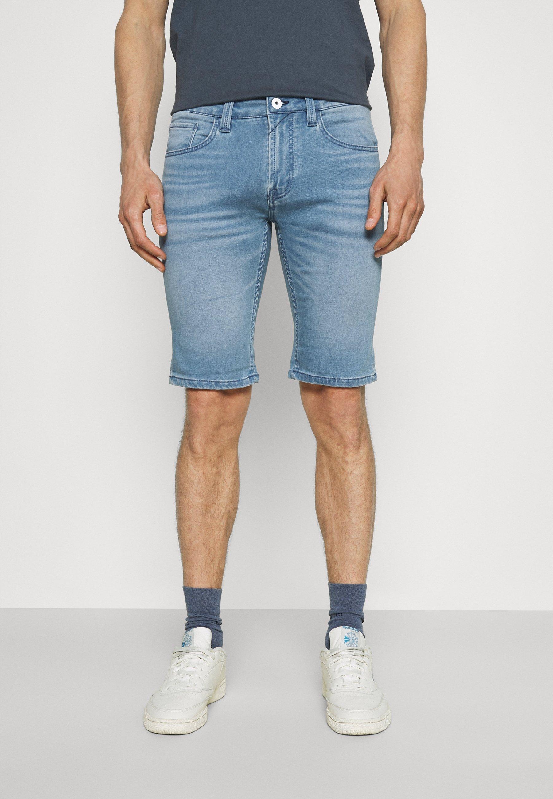Men COMMERCIALKEN - Denim shorts