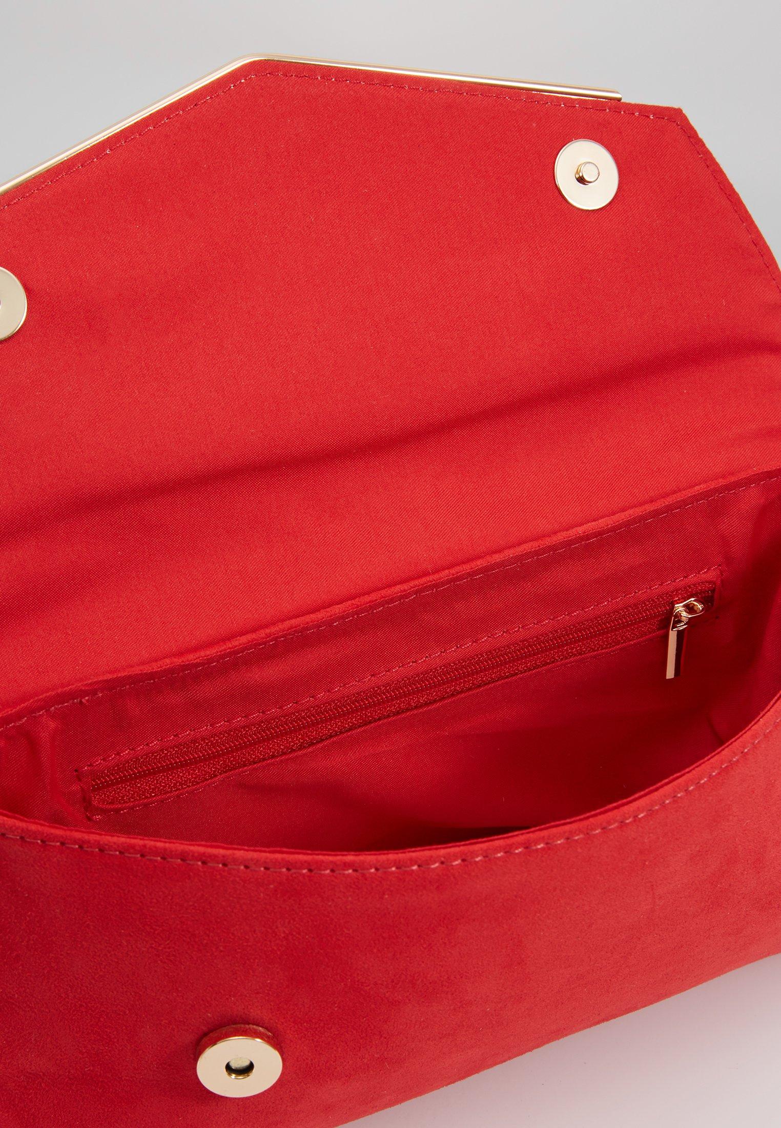 Dorothy Perkins MET BAR - Clutch - red/rød 0fqSO791xr8dxu7